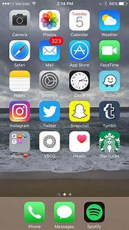 iPhone Home Screen   iOS   Iphone homescreen wallpaper ...