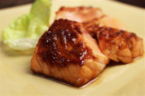 broiled salmon  miso glaze jacques pepin heart