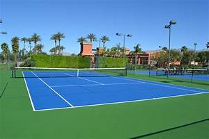 Tennis Court Resurfacing  U0026 Repair