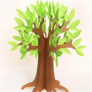 Fabriquer Un Personnage En Carton : arbre imprimer ~ Zukunftsfamilie.com Idées de Décoration