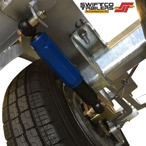 The Boat Motor And Trailer Have Weights by Swiftco Boat Trailers Single Hull Jet Ski Box