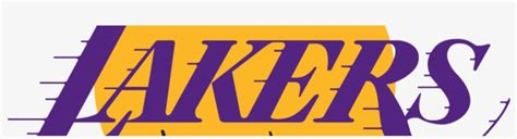 La Lakers Logo - Los Angeles Lakers Outline PNG Image ...
