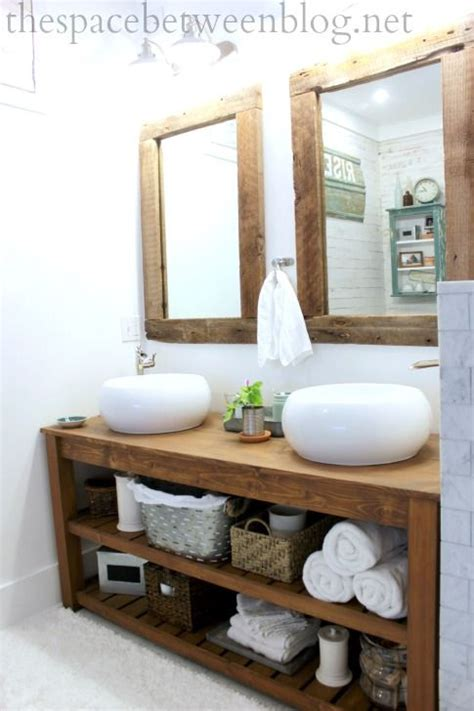 rustic bathroom designs rustic bathroom but with touches of modern from Modern