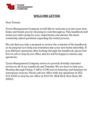 tenant  letter templates   premium