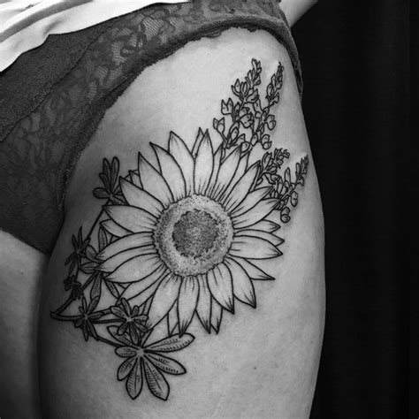 upper thigh tattoos ideas  pinterest  thigh tattoo skull tattoos  skull art