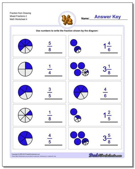 httpswwwdadsworksheetscom fraction worksheet