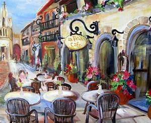 La Petite Cafe by Elaine Cory