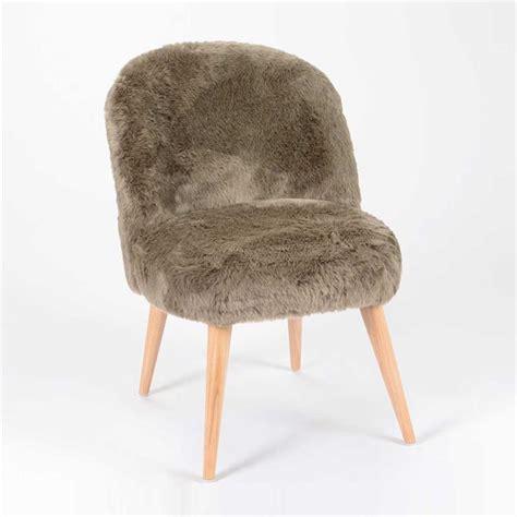 chaise fourrure chaise fourrure