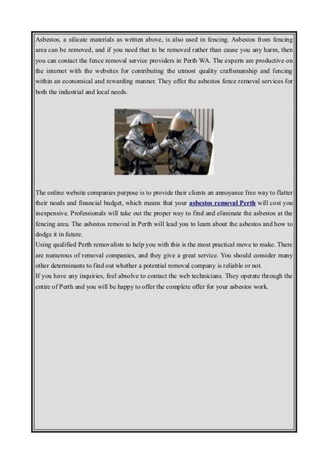 asbestos removal perth wa