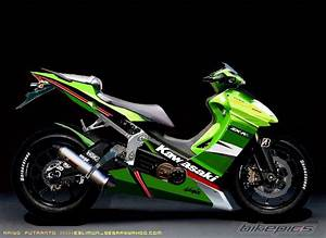 Kawasaki Kaze Zx 130 Overall Modification