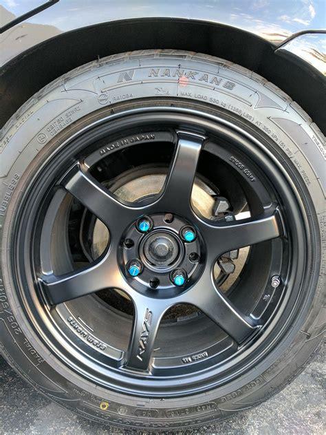 gram lights 57dr gram lights 57dr 4x100 8x15 28 with new tires honda