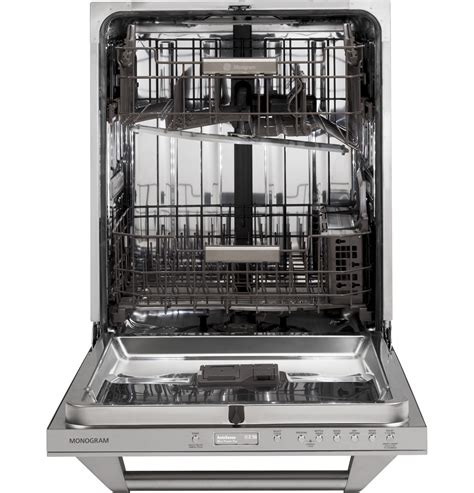 monogram fully integrated dishwasher zdtspfss ge appliances
