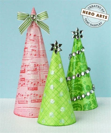 christmas tree tissue paper cone tree craft 34 best paper trees images on crafts ornaments and
