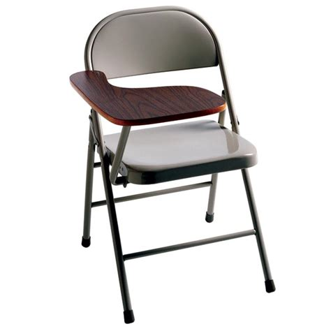 ki miracle fold table arm folding chair right