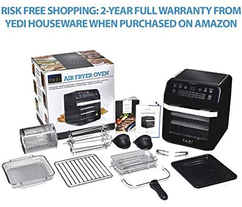 oven yedi package total air quart fryer accessory deluxe xl kit humming usa