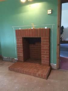 brick fireplace surround alton hshire log burner