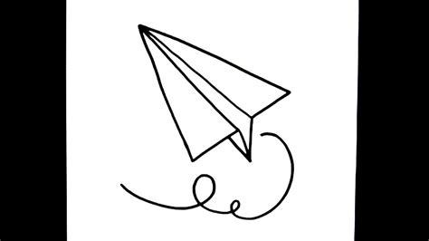 como dibujar avion de papel youtube