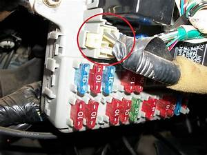 1991 Civic Hatchback  Under Dash Fuse Panel Doesn U0026 39 T Have