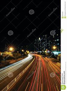 City Road At Night Stock Photography - Image: 26642222