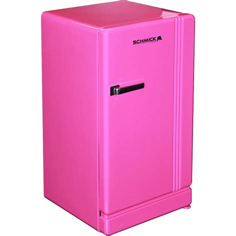 fridge n freezer retro pink bar refrigerator nostalgic look with col retro