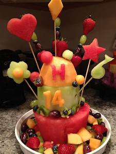 Fruit Cake Made From Real Birthday Ideas | Great party ...