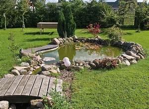 amenagement bassin exterieur lille creation etang jardin With photo bassin de jardin