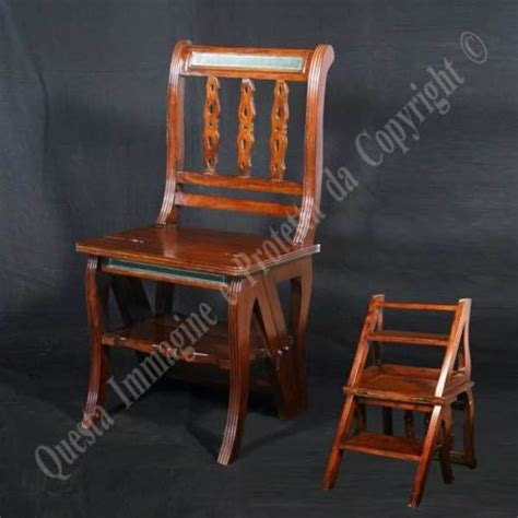 build diy amish library step stool chair pdf plans wooden