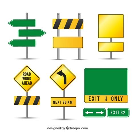 Free download road svg icons for logos, websites and mobile apps, useable in sketch or adobe illustrator. Caution road signs   Free Vector