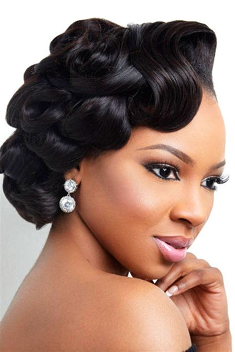black women wedding hairstyles hair black wedding