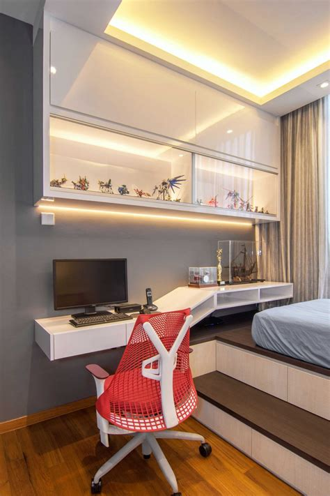 Small Bedroom Design Ideas Singapore by Contemporary Apartment In Singapore Singapore