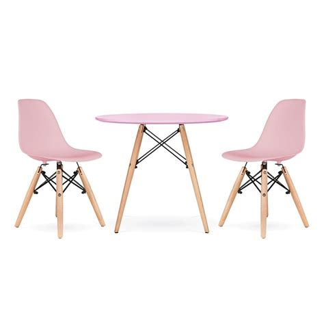 table et chaise pour enfants cult living dsw pastel pink dining set cult