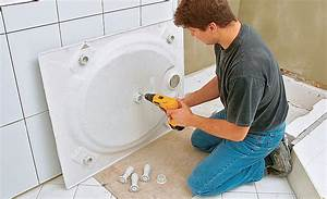 Acryl Duschwanne Einbauen : duschwanne badewanne dusche ~ Michelbontemps.com Haus und Dekorationen