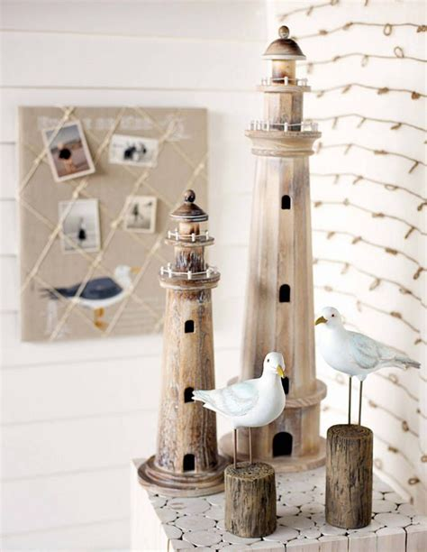 decorative wooden lighthouse new lake house in 2019 seaside decor lighthouse decor