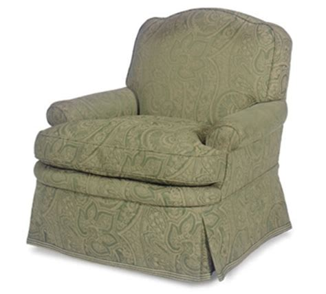 a paisley upholstered club chair interiors auction