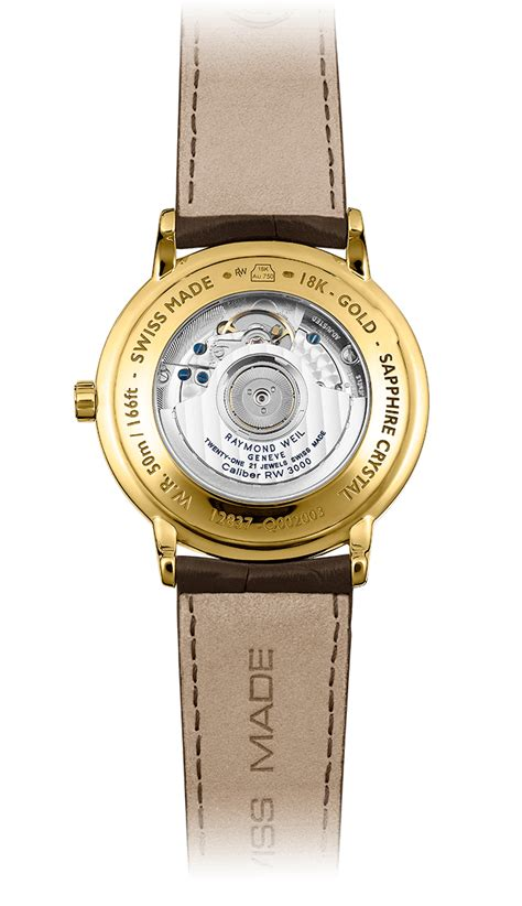 Maestro  18 Carat Yellow Gold Automatic Date Watch
