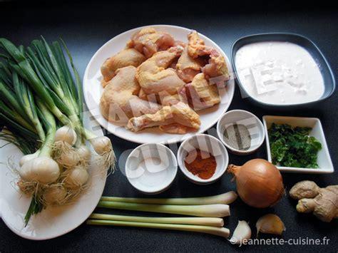 citronnelle cuisine poulet au lait de coco et citronnelle plat jeannette