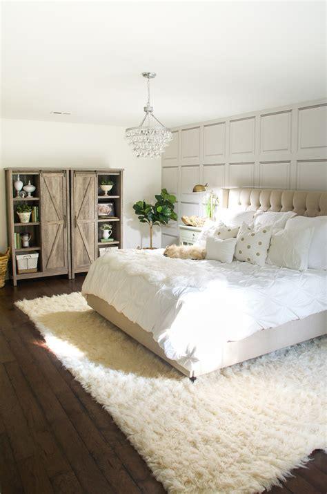 Master Bedroom Makeover by White Master Bedroom Makeover