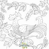 Rug Hooking Templates Coloring sketch template