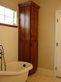 corner cabinet bathroom Corner Linen Cabinet for Space Saving Bathroom Idea ...