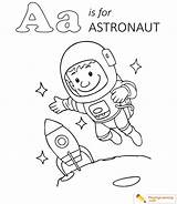Astronaut Coloring Sheet sketch template