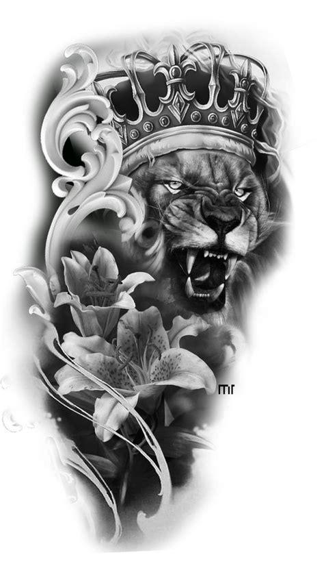 lion photos. Drawing in black and white | صور الأسد. الرسم بالأبيض والأسود | Lion tattoo, Badass