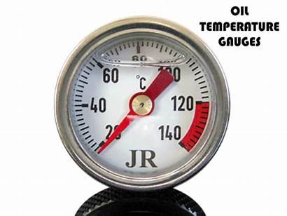 Gauge Oil Temperature Motorcycle Filler Plug Temp