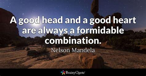 nelson mandela  good head   good heart