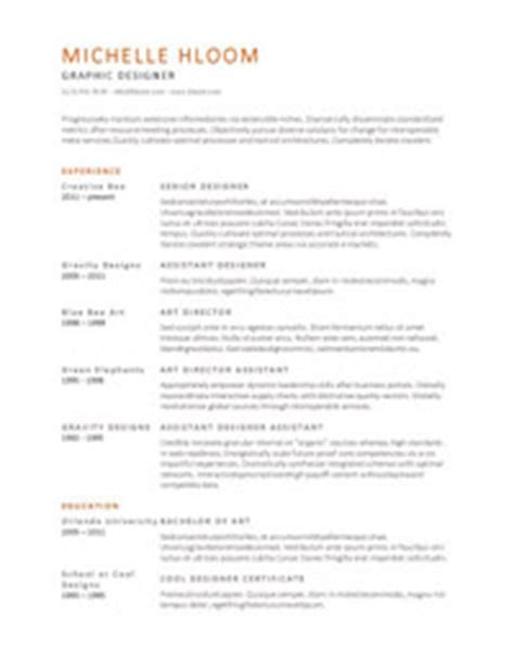 Visually Appealing Resume Template by 25 Great Resume Templates For All Aol Finance