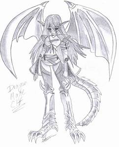 A cool dragon girl by Corky-Lunn on DeviantArt