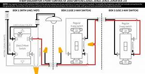Gallery Of Lutron 4 Way Dimmer Wiring Diagram Sample