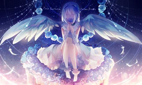 Anime Wings Wallpaper - wallpaper illustration anime wings pixiv