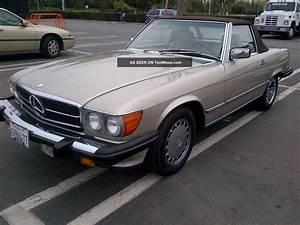 Mercedes 560 Sl : mercedes 1989 560 sl clean ~ Melissatoandfro.com Idées de Décoration