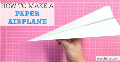 paper airplane easy  child fun