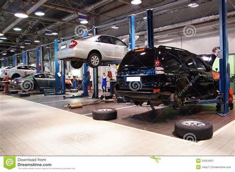 Repair Garage Stock Image  Image 34354051